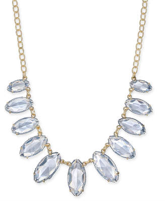 "INC International Concepts Inc Gold-Tone Thread-Wrapped Stone Statement Necklace, 20"" + 3"" extender"
