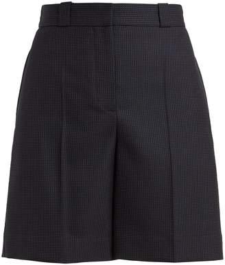Burberry Pin-dot tailored wool shorts