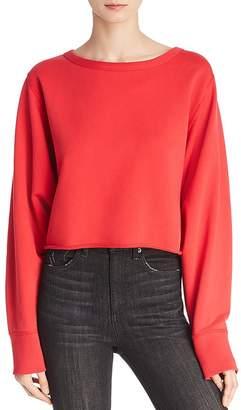 Rag & Bone Crop Sweatshirt
