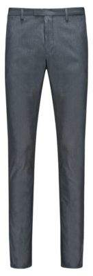 HUGO Boss Cotton Pant, Extra Slim Fit Helgo 38R Dark Blue