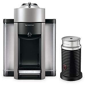 Nespresso by Delonghi by Delonghi Vertuo Coffee and Espresso Single-Serve Machine - Red
