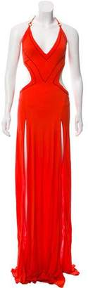 DSQUARED2 Halter Maxi Dress