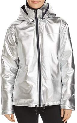 Kenneth Cole Metallic Puffer Jacket
