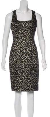 Michael Kors Jacquard Knee-Length Dress
