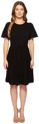 Kate Spade Flutter Sleeve Sweater Dress Women's Dress