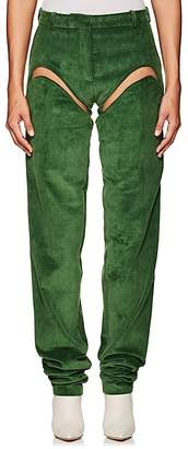 Y/Project Women's Convertible Chap-Inspired Corduroy Pants