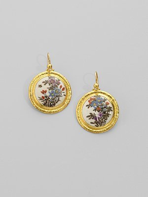 Gurhan Satsuma Floral Earrings