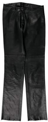 Joseph Skinny Leather Pants
