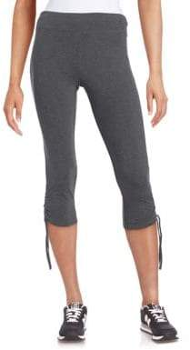 Andrew Marc Performance Ruched Leggings