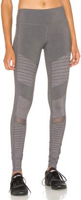 alo Moto Legging in Gray $110 thestylecure.com