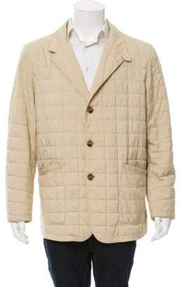 Loro Piana Quilted Button-Up Jacket