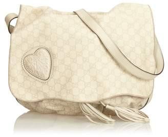Tribeca Vintage Gucci Guccissima Leather Messenger Bag
