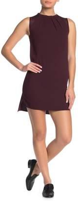 AllSaints Jay Pleated Sleeveless Shift Dress