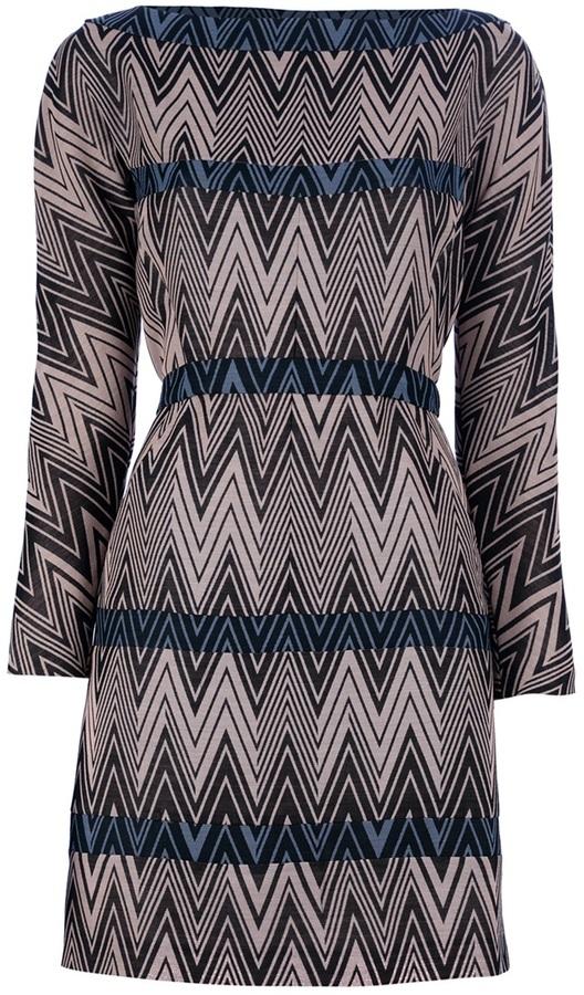Cacharel Patterned shift dress