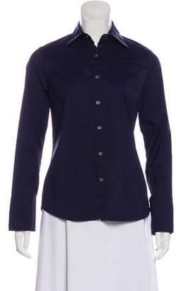 Paul & Joe Long Sleeve Button-Up Top