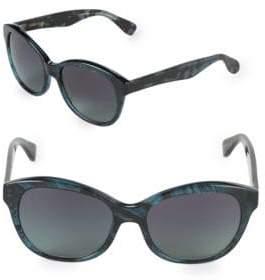 Vera Wang 55MM Butterfly Sunglasses