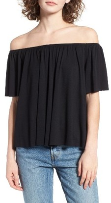 Women's Bp. Off The Shoulder Top $25 thestylecure.com