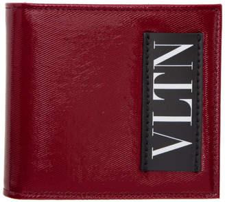 Valentino Red Garavani Logo Bifold Wallet