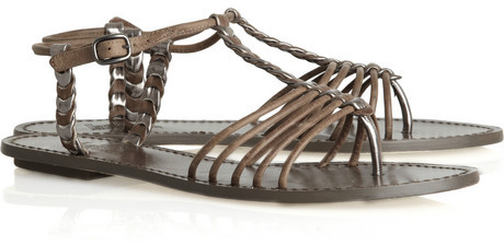 Belle by Sigerson Morrison Elbamatt leather sandals