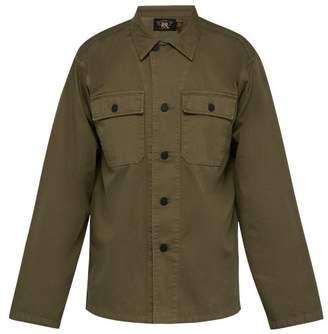 Rrl - Curtis Cotton Twill Fatigue Shirt - Mens - Khaki