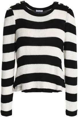 Splendid Striped Intarsia-Knit Sweater