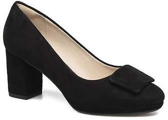 Clarks Women's Kelda Gem Rounded toe High Heels in Black