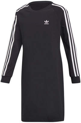 adidas Big Girls Trefoil Dress