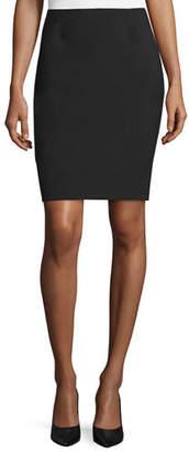 Elie Tahari Bennet Short Pencil Skirt, Black