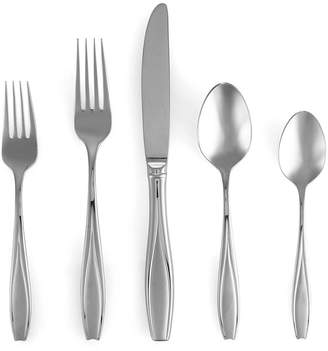 Gorham 18/10 Flatware, Tulip Frosted 5 Piece Place Setting