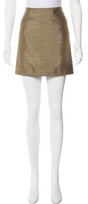 Burberry Textured Mini Skirt w/ Tags