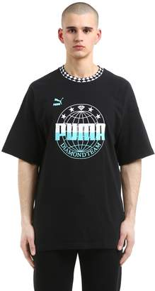 Puma Select Oversize Diamond Supply Jersey T-Shirt