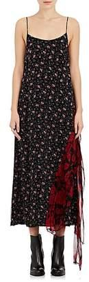 R 13 Women's Floral Silk Chiffon Slipdress