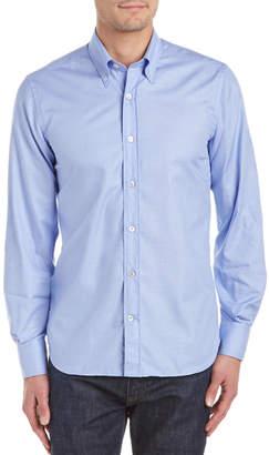 Canali Button Down Sport Shirt