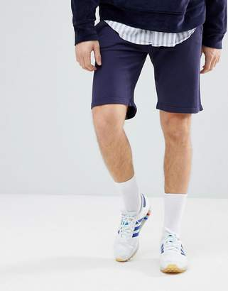 Hackett Mr. Classic Logo Sweat Shorts in Navy