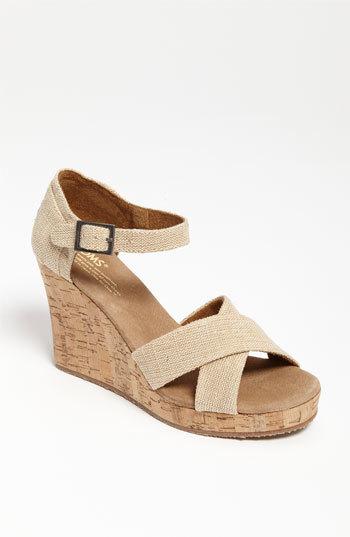 Toms 'Sierra' Wedge Sandal