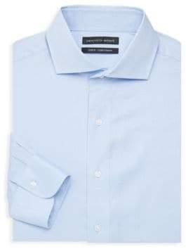 Saks Fifth Avenue Slim-Fit Textured Dress Shirt