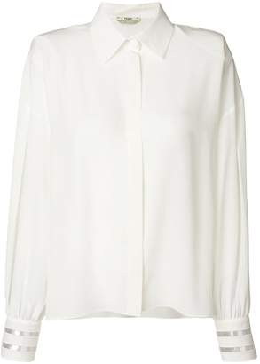 Fendi cuff detail shirt