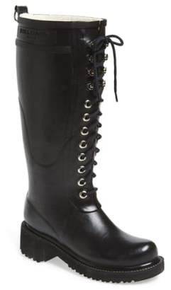 Ilse Jacobsen Waterproof Lace-Up Snow/Rain Boot