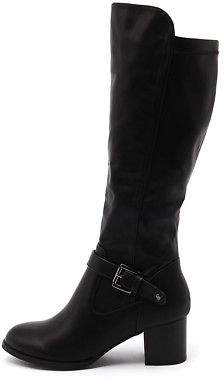 I Love Billy New Jamala Blk Stretch Smooth Womens Shoes Casual Boots Ankle