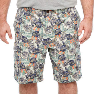 Izod Saltwater Beachtown Cargo Short Ripstop Cargo Shorts Big and Tall