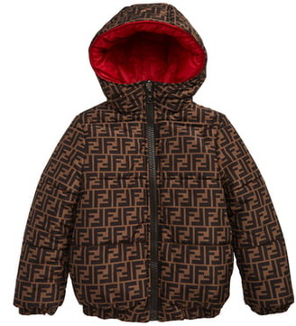 Fendi Reversible Hooded Puffer Jacket