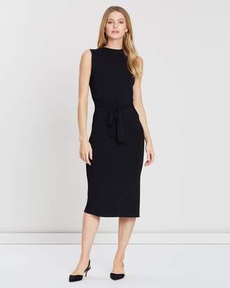 Forcast Gracie Tie Knit Dress