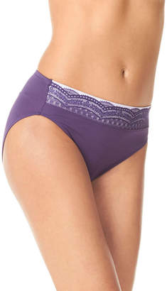 Warner's WARNERS Warners No Pinching, No Problem Lace High Cut Panty- RT7401P
