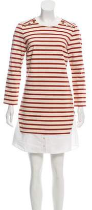 Veronica Beard Charter Striped Dress