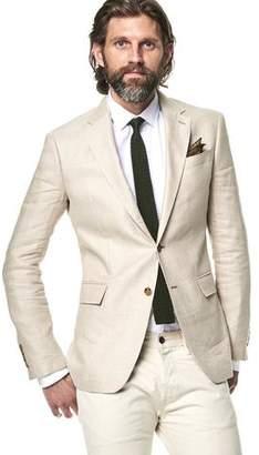 Todd Snyder White Label Sutton Unconstructed Linen Sport Coat in Beige