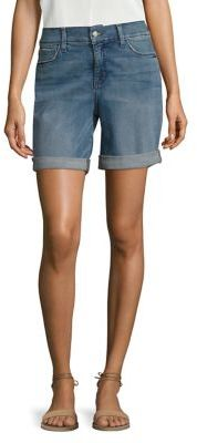 NYDJ Andy Boyfriend Shorts $79 thestylecure.com