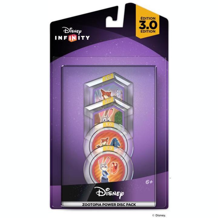 Disney Infinity 3.0 Zootopia Power Disc Pack