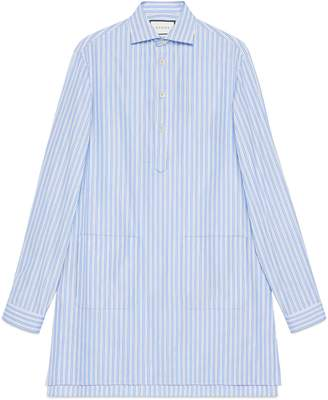 Gucci Cotton oversize shirt with pockets