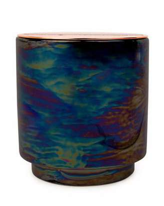 Paddywax Incense & Smoke Iridescent Ceramic Candle, 17 oz./482g