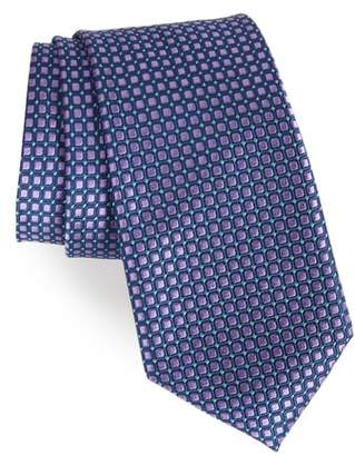 Nordstrom Laguna Check Silk Tie